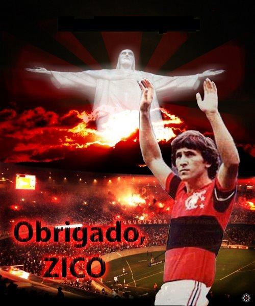 Obrigado Zico